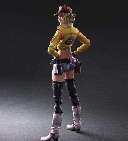 《最终幻想15》性感机师辛迪可动手办欣赏