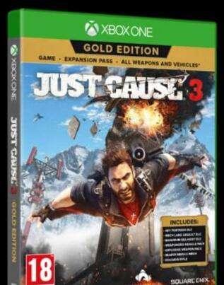 《正当防卫3》黄金版发布 包含所有DLC武器和载具