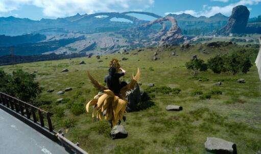 最终幻想15庆典怎么抓小陆行鸟 按圆圈没用咋办