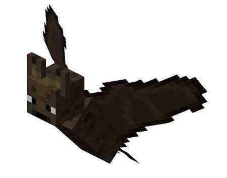 我的世界飞行生物 中立怪物蝙蝠详细资料