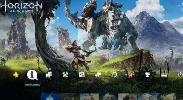 PS4发布免费《地平线:黎明时分》静态主题