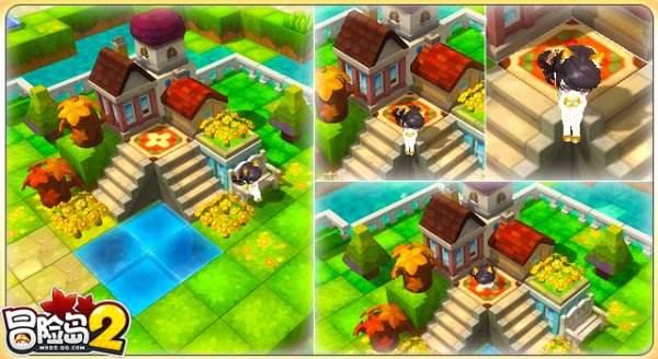 大神们的杰作 冒险岛2特色房屋装修给你参考!