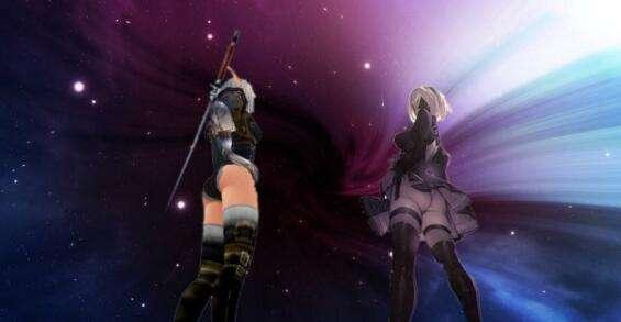 《尼尔机械纪元》X《魔兽世界》2B黑丝幻化