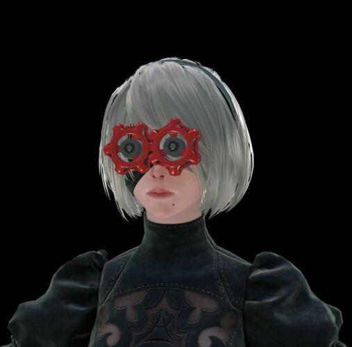 《尼尔:机械纪元》PC版独占头饰美图欣赏
