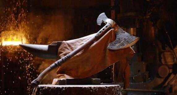 MaA铁匠完美重现《战神4》奎爷全新大斧
