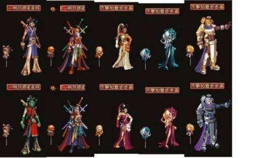 时装还原那些经典的NPC COS角色的时装搭配图片