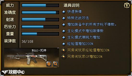 英雄级M4A1-死神详解 你们对死亡一无所知
