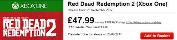 《荒野大镖客2》什么时候出 9月26日发售?