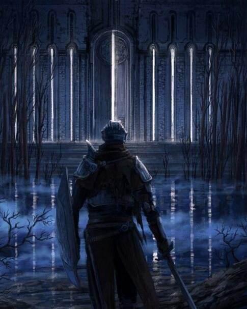 《黑暗之魂》同人画壁纸欣赏 满满艺术感