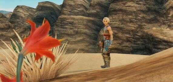 《最终幻想12》重制新截图 黄毛也有海飞丝