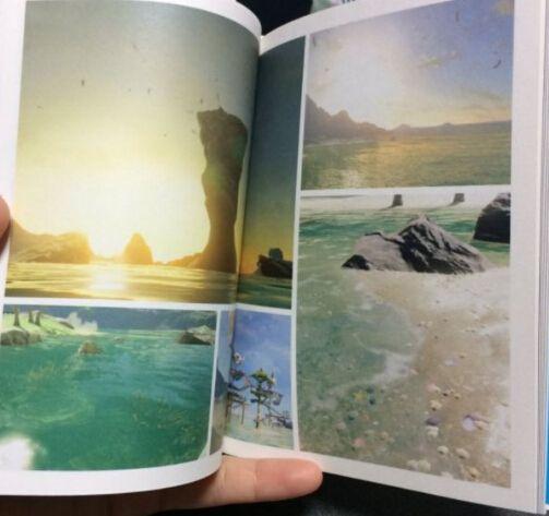 《塞尔达传说:荒野之息》变身风景大片