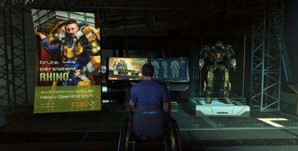 机甲科幻版黑魂《迸发》PC版4K截图公布