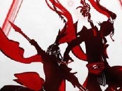 《剑网3》有爱同人秀 全门派双人轻功剪影插画