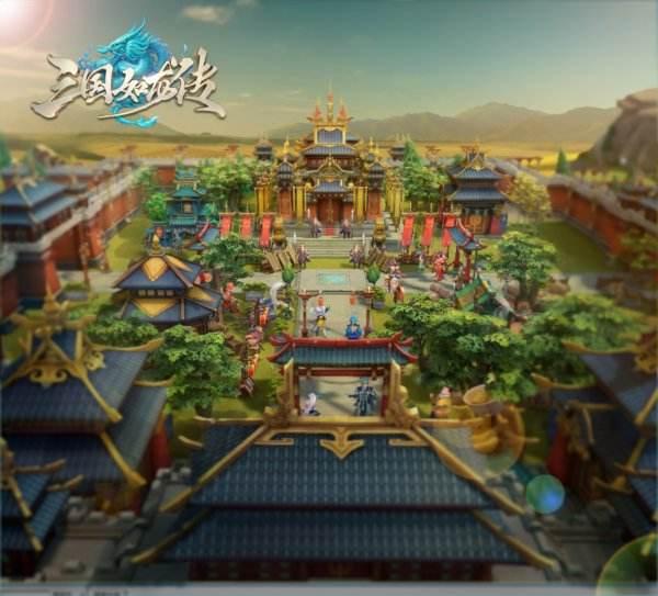 《三国如龙传》520首曝 世代幻想大作引燃期待