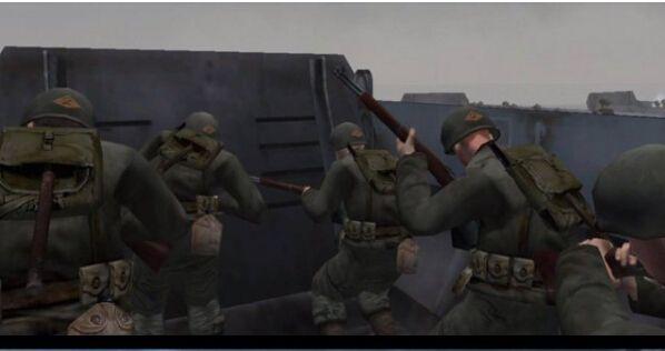 《使命召唤14》与使命召唤2诺曼底登陆对比
