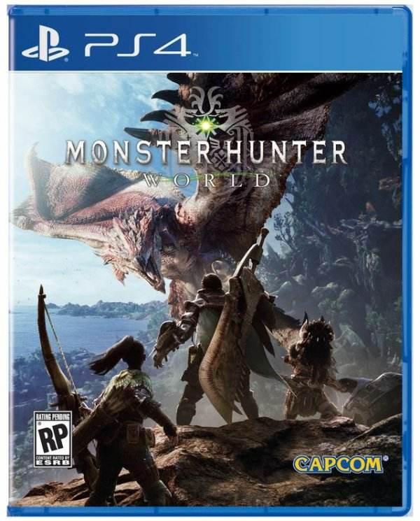 《怪物猎人:世界》全球跨区联机 开放世界狩猎
