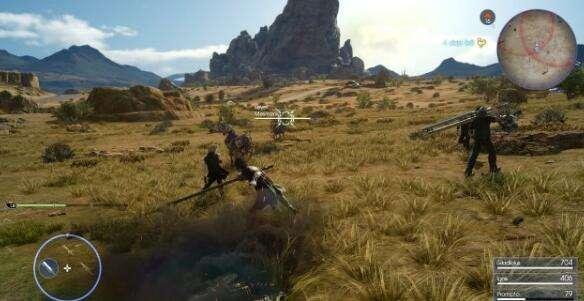 《最终幻想15》XboxOne X主机截图欣赏