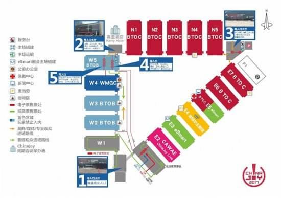 2017ChinaJoyBTOB/WMGC展商名单正式公布!