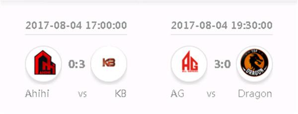 AG KB横扫对手 中国军团成功会师决赛