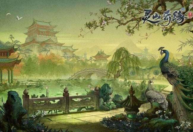 《灵山奇缘》演绎极致国风 壁纸原画赏析