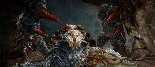 怪物猎人OL同人小说 夕阳下的奋战