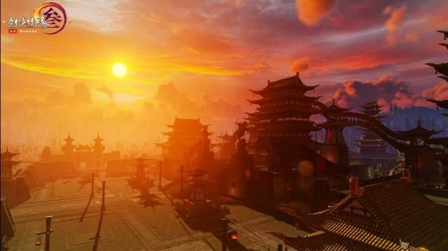 《剑网3》重制版高清截图 还是你熟悉的江湖