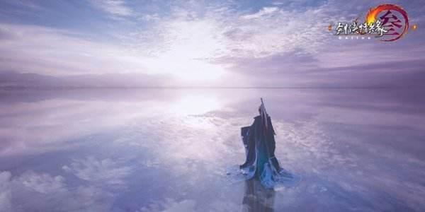 有颜有范 《剑网3》国风外观鹤影天青高清COS集