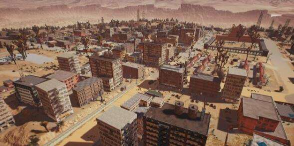 《绝地求生》曝沙漠地图小地图 僵尸小城来袭