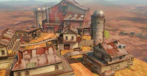 《守望》渣客镇地图:女王统治的后末日危城