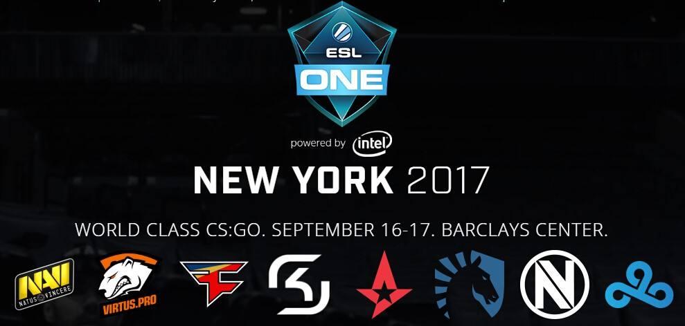 火猫直播ESL One纽约站:CS:GO赛事季过半!