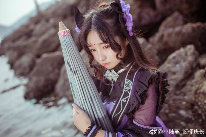 剑网3花萝优秀COS欣赏 微风拂面海天一色