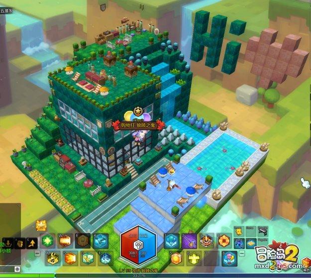 冒险岛2房屋建造思路讲解 平民玩家也能造出精致小屋