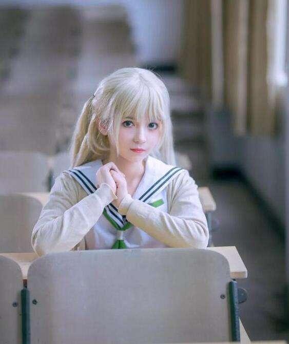 《美少女万华镜》觋夕摩cos 超自然风格