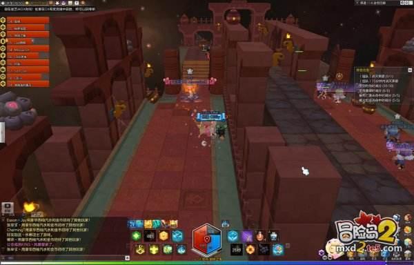 把开荒玩成观光的冒险岛2迷宫集会堂详细攻略