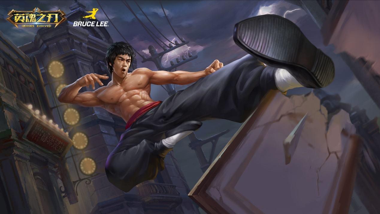 李小龙英雄故事曝光 功夫王降临《英魂之刃》