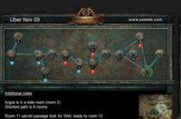 11月9日终极迷宫地图 最短8房间可6钥匙