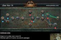 11月14日终极迷宫地图 最短8房间可6钥匙