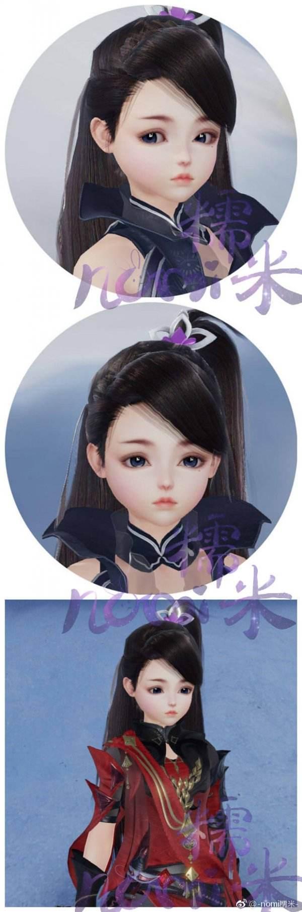 剑网3重制版萝莉捏脸分享 全门派特色数据