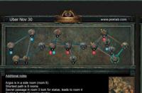 11月30日终极迷宫地图 最短8房间6钥匙