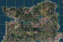 绝地求生中文资源图 中文资源点地图一览