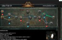 2月1日终极迷宫地图 最短8房间可6钥匙