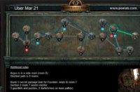 3月21日终极迷宫地图 最短9房间可6钥匙
