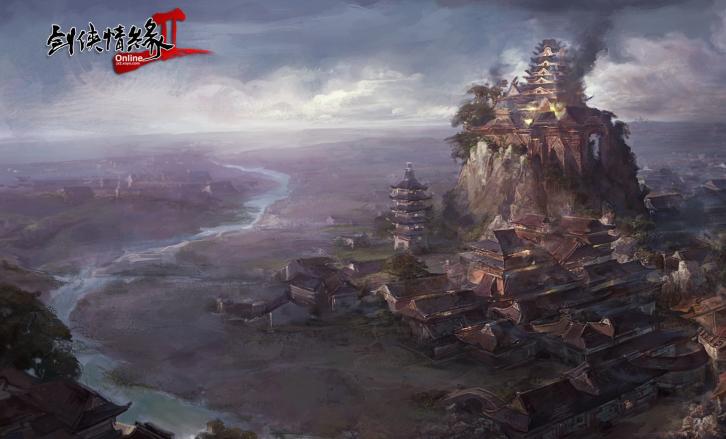 小雨清初夏 《剑网2》五月版本精彩上线啦
