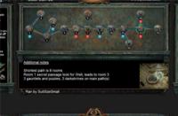 6月8日终极迷宫地图 最短8房间可6钥匙