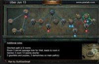 6月13日终极迷宫地图 最短9房间可6钥匙