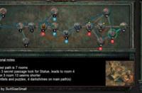 6月19日终极迷宫地图 最短7房间可6钥匙