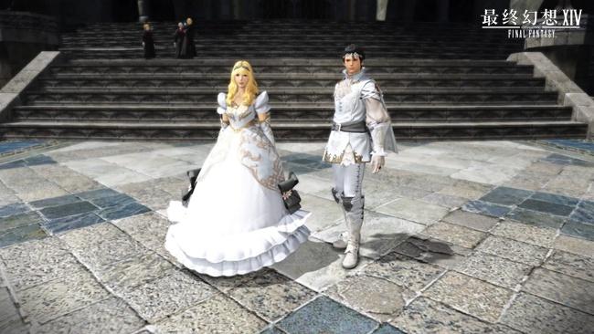 《最终幻想14》国服公主王子套装6.26开售
