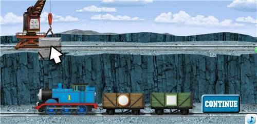 好玩的托马斯小火车货物匹配flash小游戏_核弹