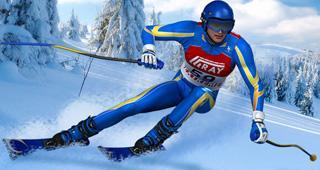 高山滑雪赛