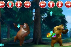 熊大熊二跳舞